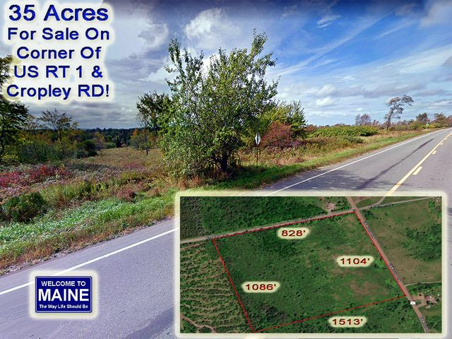 Lot 4 US RT 1 / Cropley RD Highway, Weston, ME 04424