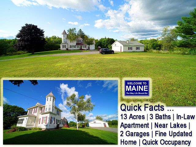 25 Forest City Road, Brookton Twp, ME 04413