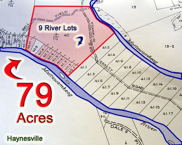 Lot 40 Bell Field Road, Haynesville, ME 04497