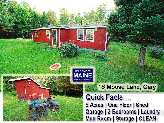 16 Moose Lane, Cary Plt, ME 04471