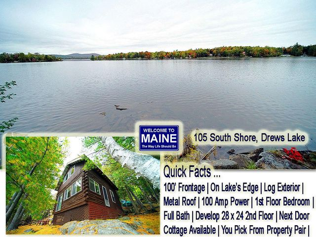 105 S South Shore Road, Linneus, ME 04730