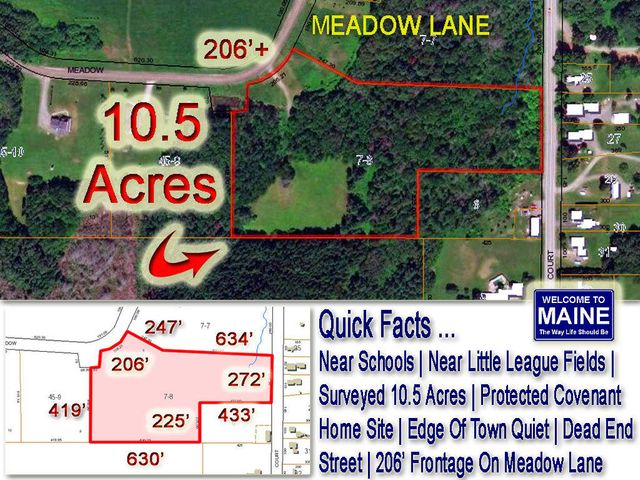 Lot 7-8 Meadow Lane, Houlton, ME 04730