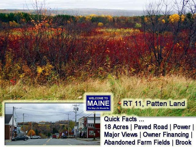 Lot 16 B RT 11 Highway, Patten, ME 04765