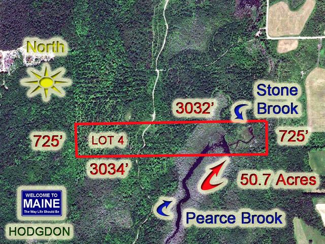 Lot 4 Hollywood Road Estates Road, Hodgdon, ME 04730