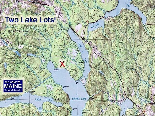 Lt 161-162 Abraham Point Road, T16 R5 WELS, ME 04779