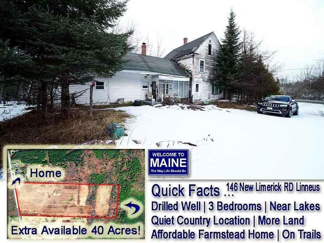 146 New Limerick Road, Linneus, ME 04730