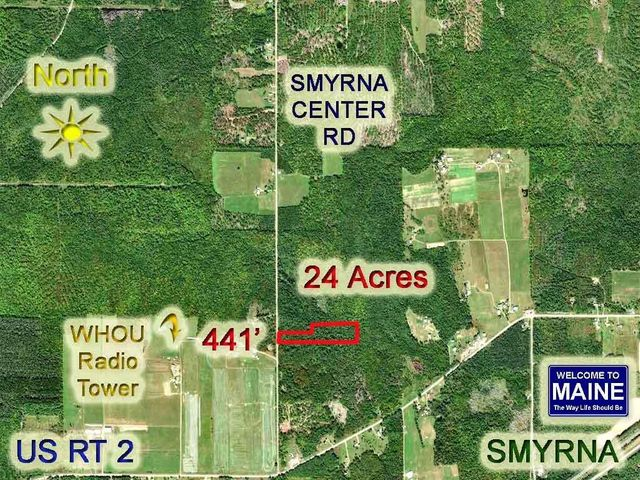 Lot 17E Smryna Center Road, Smyrna, ME 04780