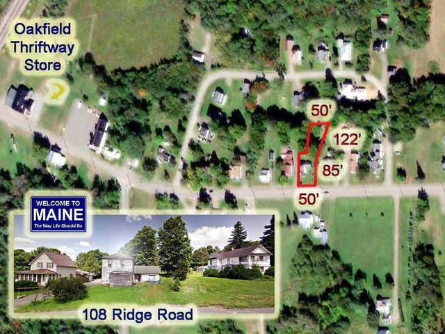 108 Ridge Road, Oakfield, ME 04763