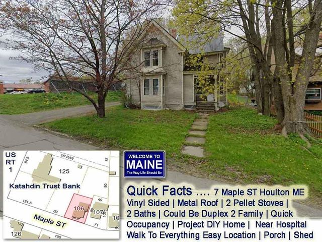 7 Maple Street, Houlton, ME 04730