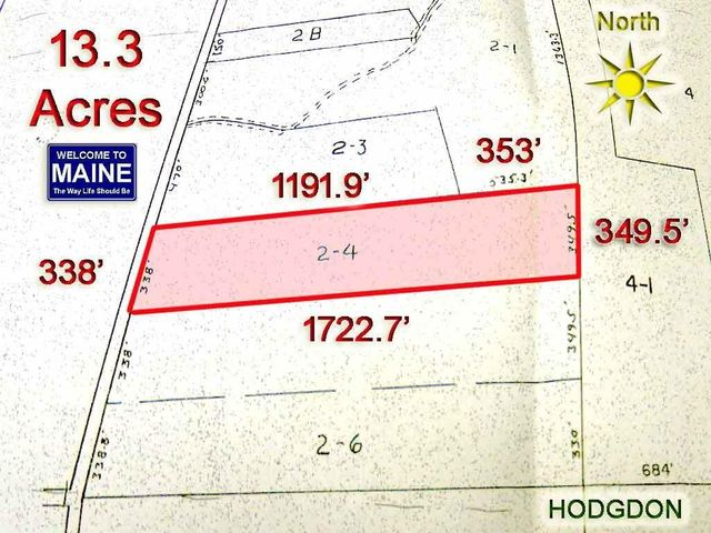 Lot 4 Green Road, Hodgdon, ME 04730