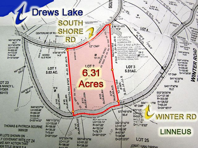 Lot 2 South Shore Road, Linneus, ME 04730