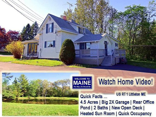 1713 Us Highway 1 Road, Littleton, ME 04730