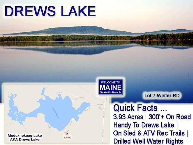 Lot 7 Winter Road, Linneus, ME 04730