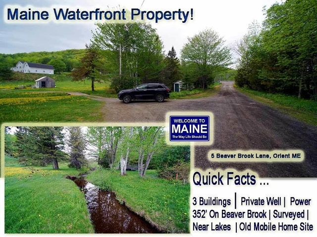 5 Beaver Brook Lane, Orient, ME 04471