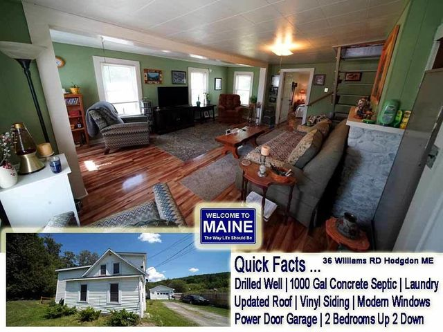 36 Williams Road, Hodgdon, ME 04730