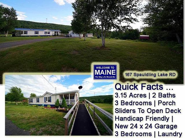 167 Spaulding Lake Road, Oakfield, ME 04763