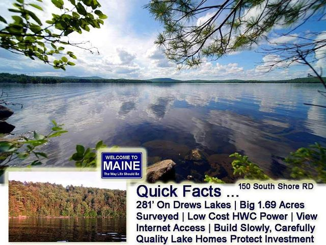 150 S South Shore Road, Linneus, ME 04730