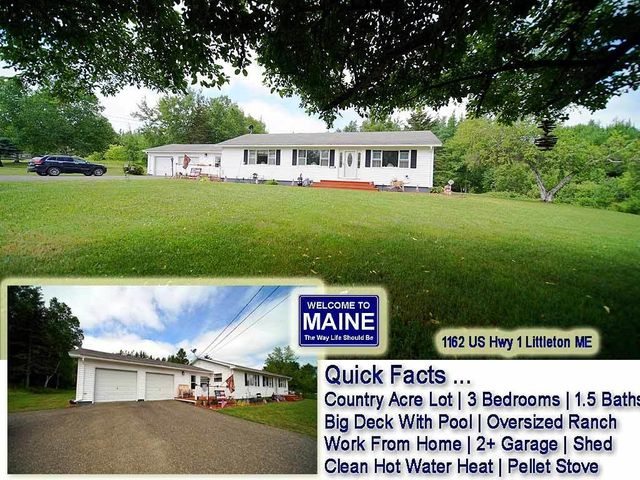 1162 US Hwy 1, Littleton, ME 04730