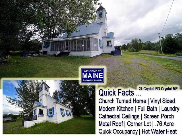 24 Crystal Road, Crystal, ME 04747