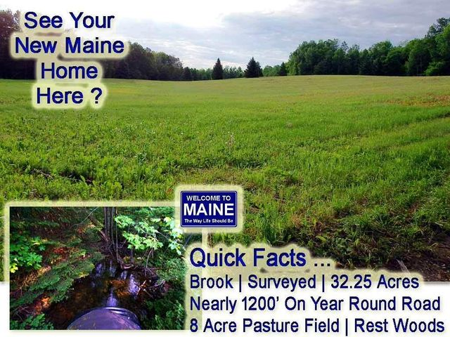 Lot 9-1 New Limerick Road, Linneus, ME 04730