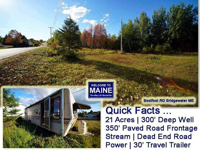 Lot4A Bootfoot Road, Bridgewater, ME 04735