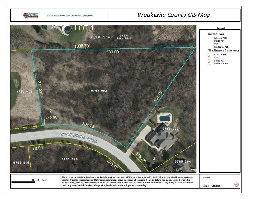 Lt2 Yorkshire Trace,Delafield,Wisconsin 53072,Vacant Land,Yorkshire Trace,1577052