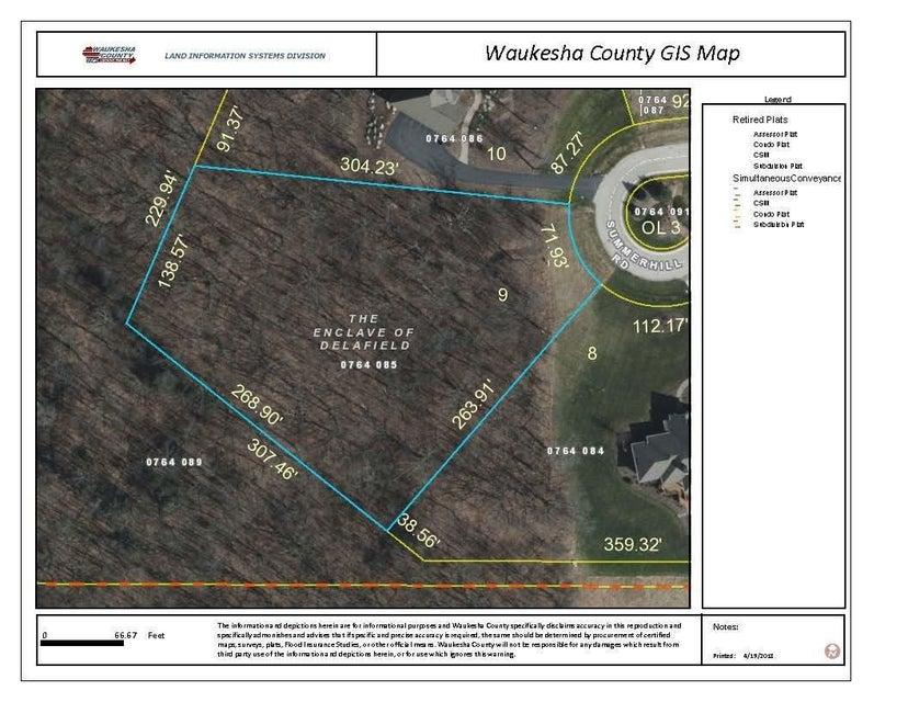 Lot 9 Summerhill Rd,Delafield,Wisconsin 53072,Vacant Land,Summerhill Rd,1577053