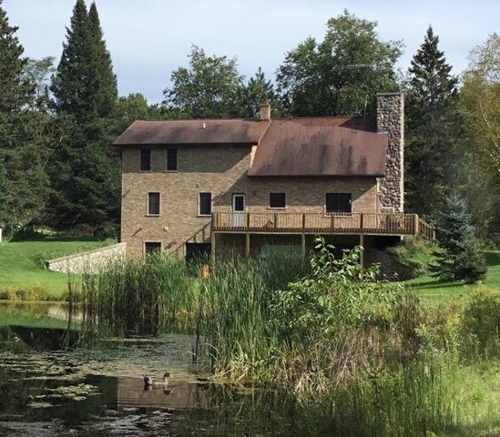 Pond and Brandywine Creek on property