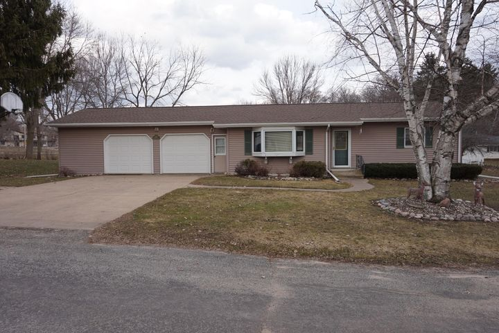 Ranch style home in a very desired neighborhood in Westby.  Two bedrooms and a remodeled full bath on the main level, two bedrooms without egress windows, family room, 3/4 bath, and a large laundry room on the lower level.  Two car attached garage, heated,  storage shed and a large level yard.  There is drain tile around the home with a brand new battery back-up sump pump.  Storage space, air exchanger, many nice additions make this a home to be desired!