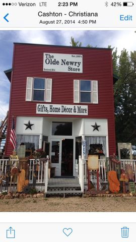 Take a step back in time with this two story building which has been been re done.  Currently ''The Olde Newry Store'' you could make this property whatever your dream is! Located on Highway 27 makes it a fantastic location! Roughly 1600 square feet, 800 per story. Come take a look! Lets make your dream a reality!