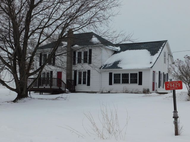 Remodeled 5 bedroom 2 bath Country setting home waiting for you! New Septic in 2017 and a new roof in 2018. Nice 2 car detached garage. More acreage and outbuildings available in buyer is interested.