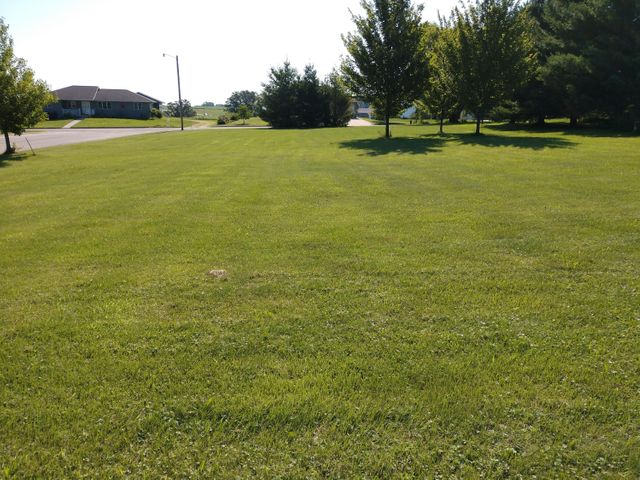Double lot in the Village of Cashton! The Carriage Hills subdivision is located at the edge of town with mostly new construction homes nearby. Nice, country views and a quiet neighborhood makes this an ideal building site. Utility hook ups at the lot lines. One lot has a cement pad poured (used as a basketball court/hoop not included). Other lot is a corner lot with access from Sara or Kyle Ave. Beautiful, level .6 acre lot that is ready to break ground!