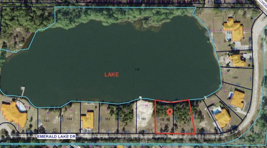 0 Emerald Lake Dr, Waveland, MS 39576