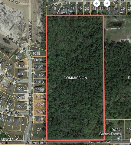 17.8 Acres Commission Rd, Long Beach, MS 39560