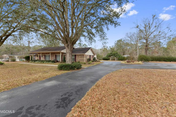 So much to offer and great location! This 3 bedroom 3 bath home on 2.67 acres has it all!  Large living room with brick fireplace, kitchen with tons of cabinets and dining area, utility room with a lot of storage. Great for entertaining with inground pool (new liner installed in 2020) and covered patio areas in the amazing backyard. 2 sheds on the property and close to schools and downtown Hurley.