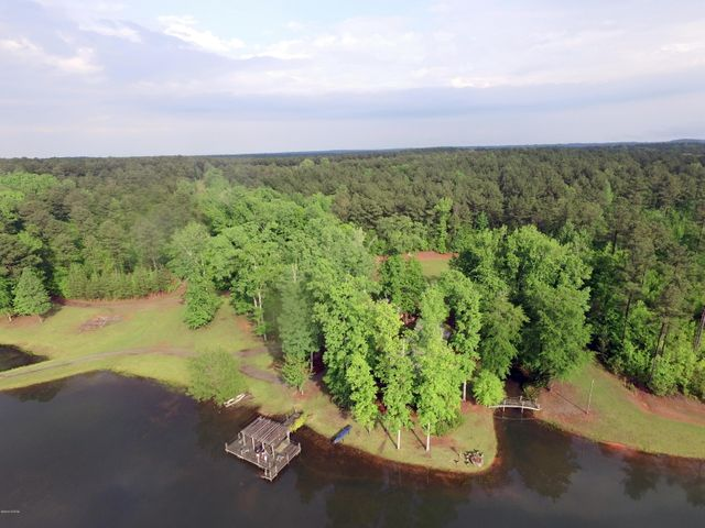 Beautiful Timber Tract In Monroe County! 267 Acres with Lake, Cabin & Horse Barn!   This 3 BR/2 BA beautiful cabin (total wood, no sheet rock) built by Franco DeMichiel with 1800 sq ft front porch with a large 4-sided fireplace in the center and sits on a 9 acre stocked lake. Cooking shed, city water, well, entrance gate. 2 horse pastures, new 3-stable barn and tack room. Approx 1.5 mile road frontage on Reedy Creek Rd and McCowan, approx 1 mile of frontage on Tobesofkee Creek, all road frontage is fence. Approx 150 acres of planted pines.