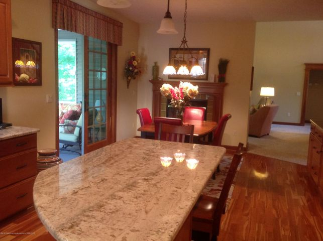 3282 Canopy Dr - Breakfast Nook with  2 Sided Fireplace - 4
