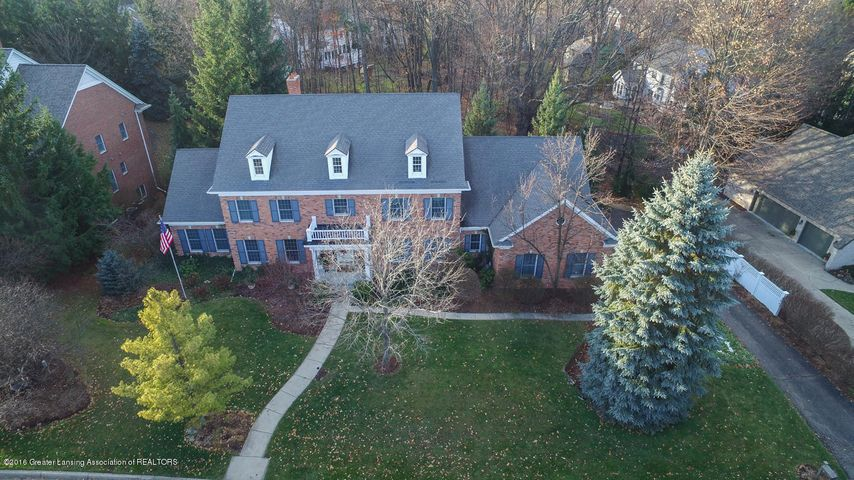 6431 Oakencliffe Ln - 12-8-16 aerial view - 1