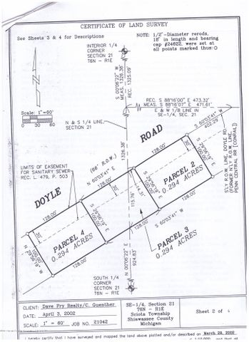 0 Doyle Rd - Survey - 1