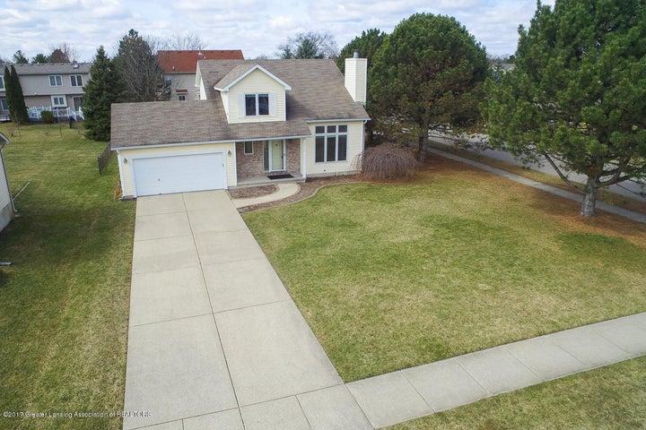 3925 Sun Rapids Dr - Front Aerial View - 1