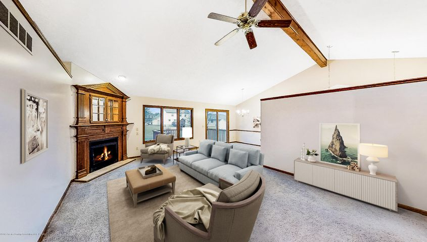 5845 MacMillan Way - Staged Family Room - 3
