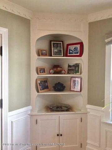 249 University Dr - DR Built In Corner Cabinet - 10