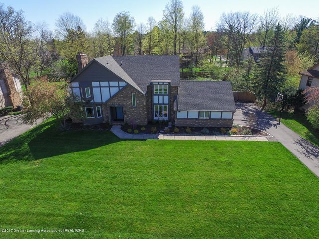 3798 Crooked Creek Rd - Front Exterior Aerial - 1