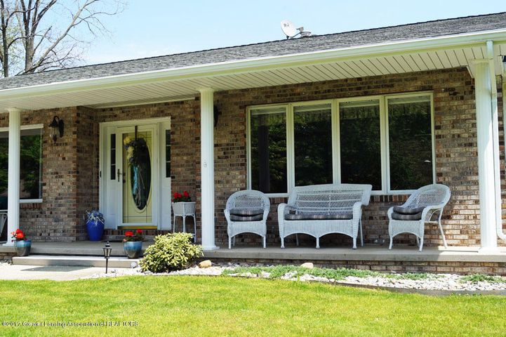 12848 Oneida Woods Trail - Covered Porch - 3