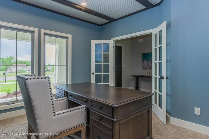 13665 Sienna Pass - Office with French Doors - 13