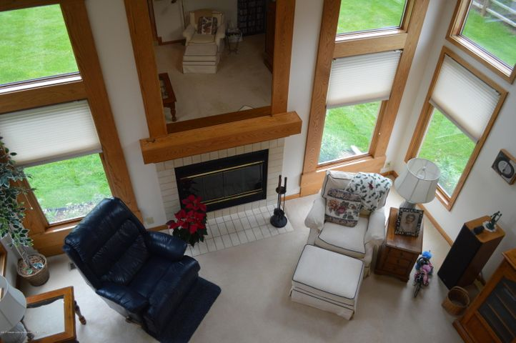 3887 Crooked Creek Rd - View of Living Room from the loft - 19