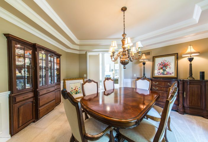 3593 Cabaret Trail - Built-in Lighted Hutch in Dining Room - 12