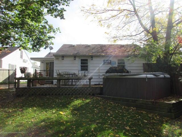 411 Lasalle Blvd - Rear of Home - 27