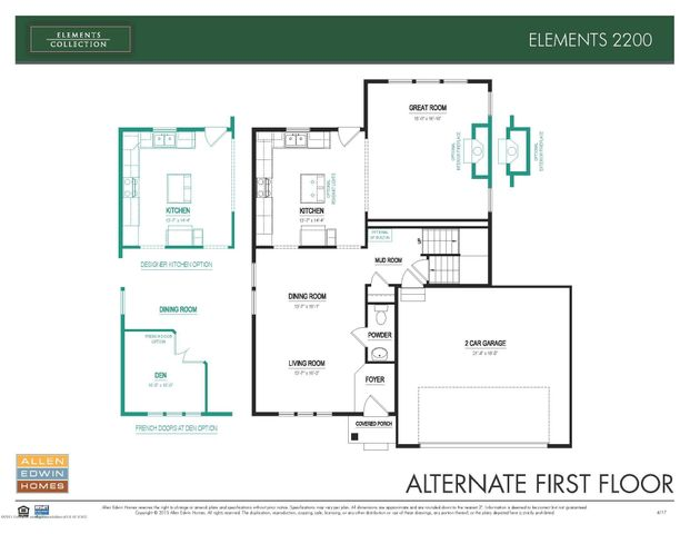 952 Pennine Ridge Way - Elements 2200 Alternate First Floor - 18