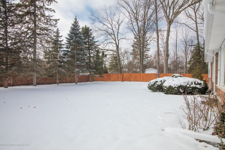 321 Loree Dr - Privacy Fence lining Backyard - 29